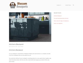 blossombouquets.co.uk screenshot