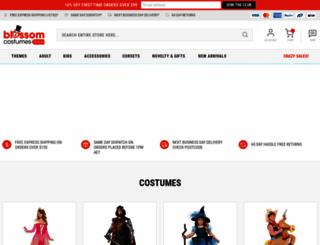 blossomcostumes.com.au screenshot