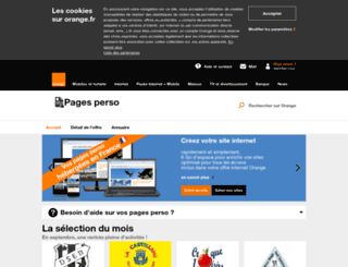 bloukarchive.voila.net screenshot