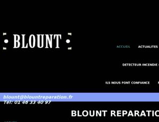 blountreparation.fr screenshot