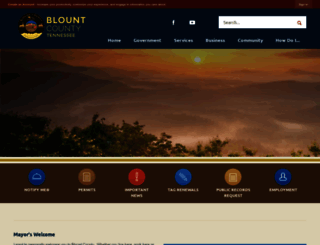 blounttn.org screenshot