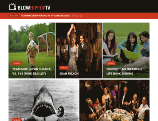 blowhiphoptv.com screenshot