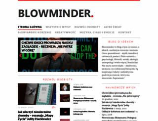 blowminder.com screenshot