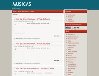 blowmusicas2.blogspot.com.br screenshot