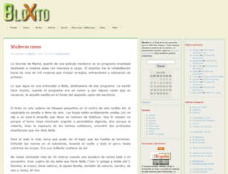 bloxito.blogalia.com screenshot
