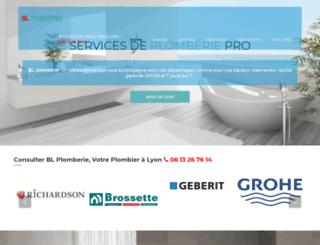 blplomberie.fr screenshot