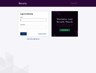 blr-ls.recurly.com screenshot