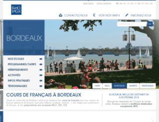 bls-frenchcourses.com screenshot