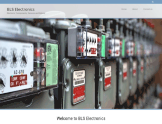 blselectronics.co.uk screenshot