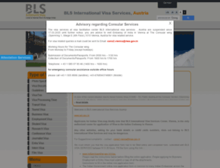 blsindiavisa-austria.com screenshot