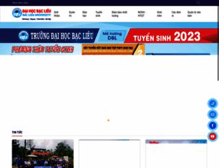 blu.edu.vn screenshot
