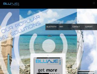 bluaje.com screenshot