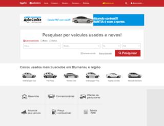 blucarros.com.br screenshot