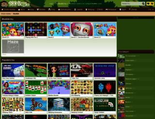 bludiste.1001hry.cz screenshot