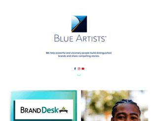 blue-artists.com screenshot