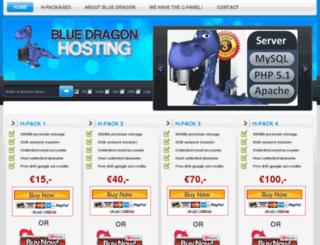blue-dragon-hosting.com screenshot