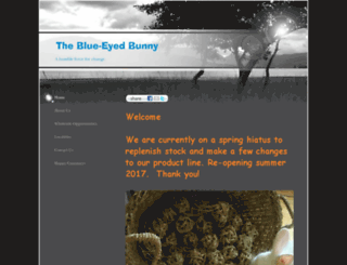 blue-eyed-bunny.com screenshot