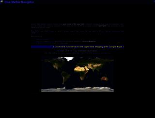 blue-marble.de screenshot