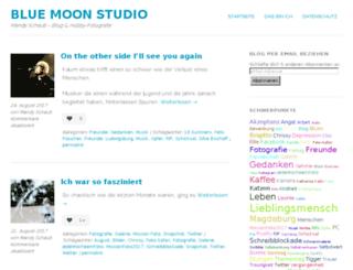 blue-moon-studio.de screenshot