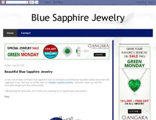 blue-sapphire-jewelry.blogspot.com screenshot