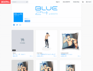 blue24.booth.pm screenshot