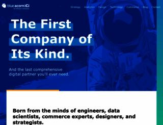 blueacorn.com screenshot