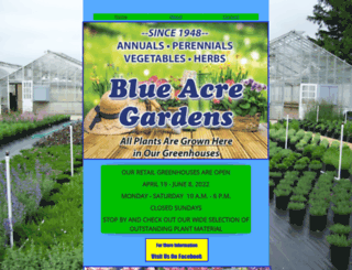 blueacregardens.com screenshot