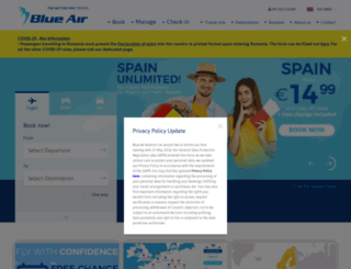 blueair-web.com screenshot