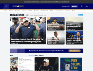 blueandgold.com screenshot