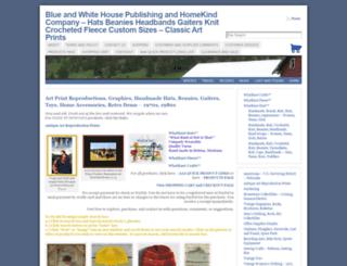 blueandwhitehousepubandhkco.com screenshot