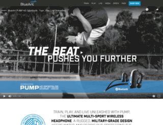 blueantpump.com screenshot