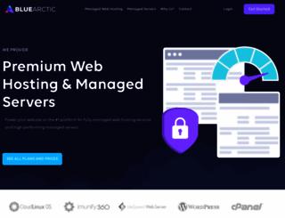 bluearctic.com screenshot