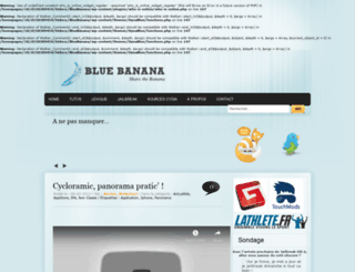 bluebanana.fr screenshot