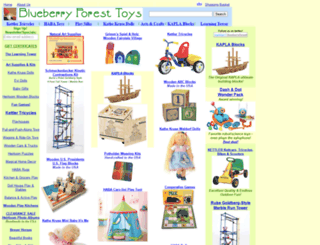 blueberryforest.com screenshot