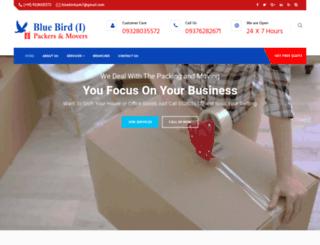 bluebirdindiapackers.com screenshot
