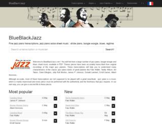 blueblackjazz.com screenshot