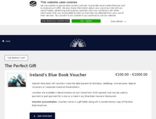 bluebookvouchers.com screenshot