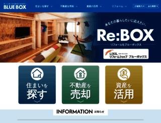 bluebox.co.jp screenshot
