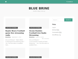 bluebrine.com screenshot