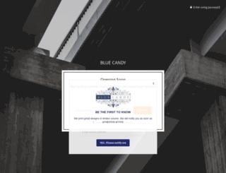 bluecandy.com.au screenshot