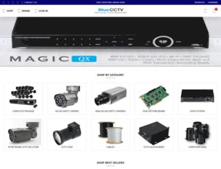 bluecctv.com screenshot