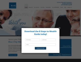 bluechipwealth.com.au screenshot