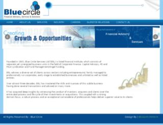 bluecirclelimited.com screenshot