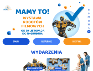 bluecity.pl screenshot