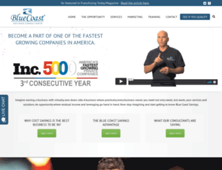 bluecoastfinancial.biz screenshot