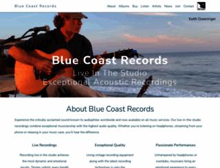 bluecoastrecords.com screenshot