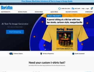 bluecotton.com screenshot