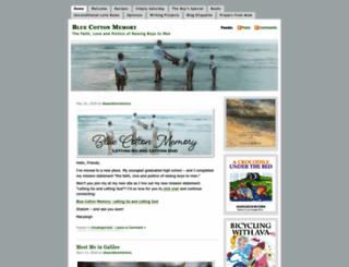bluecottonmemory.wordpress.com screenshot