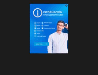 bluecouriers.com screenshot