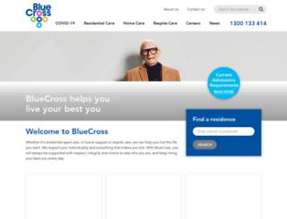 bluecross.com.au screenshot